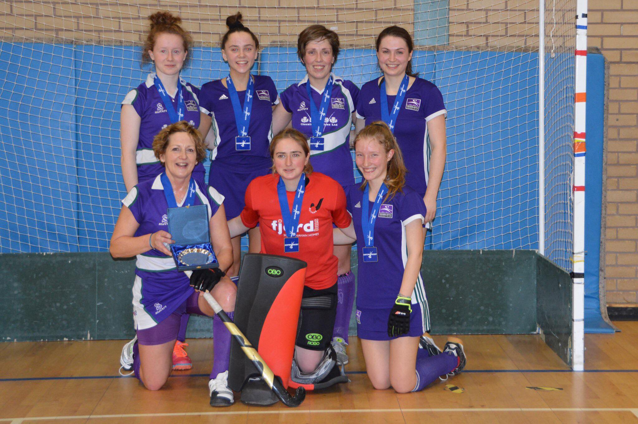 Inverleith Ladies 2s Indoor Hockey Team