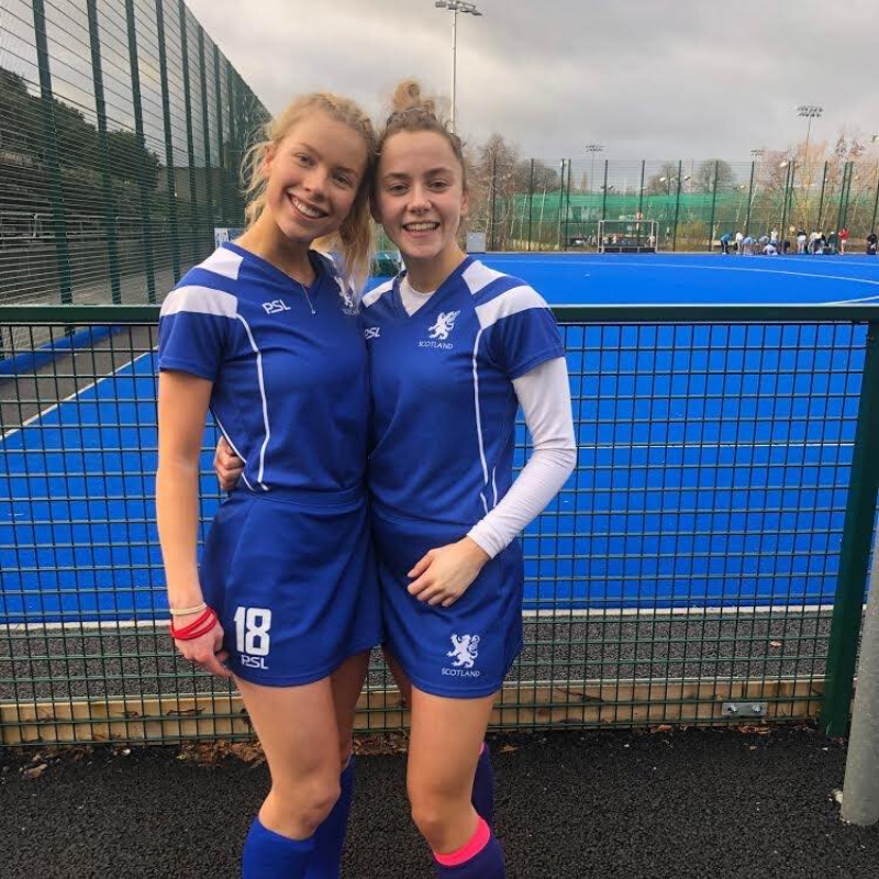 Its Hooftman and Sophie Hinds Inverleith Hockey Club